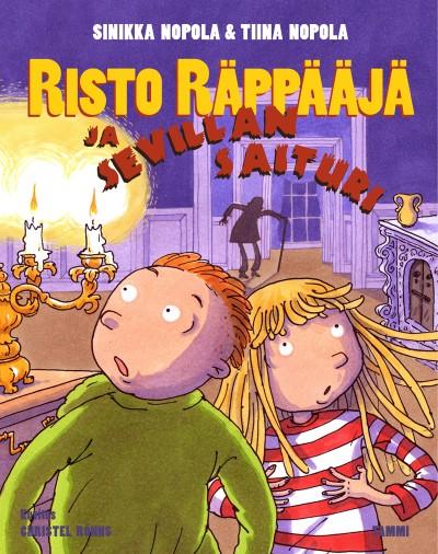 Risto Räppääjä ja Sevillan saituri ilmestynyt heinäkuussa 2014