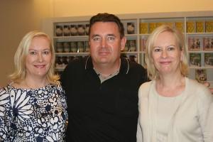 Tiina Nopola, Timo Koivusalo ja Sinikka Nopola.