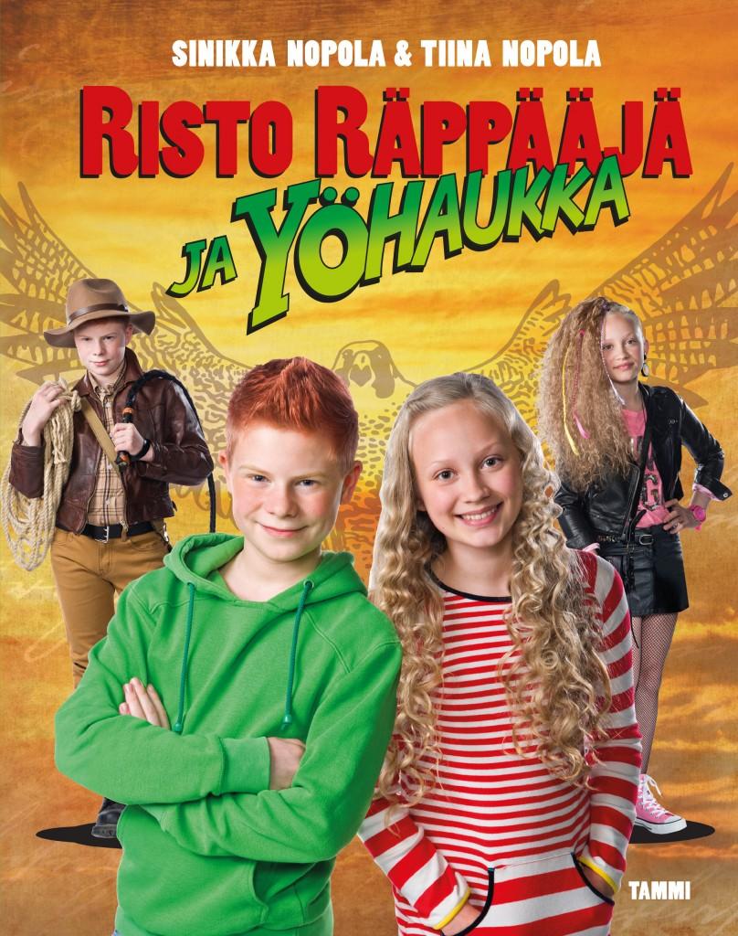 Risto Räppääjä ja yöhaukka -elokuvakirja