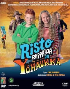 Risto Räppääjä ja yöhaukka DVD 2016