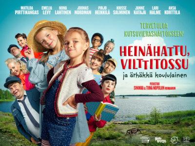 Heinähattu, Vilttitossu ja ärhäkkä koululainen – #Heinisleffa nyt teattereissa!